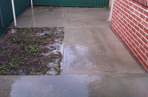Concrete Cleaning Pressure Cleaning Job